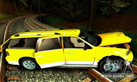 Landstalker GTA IV for GTA San Andreas bottom view