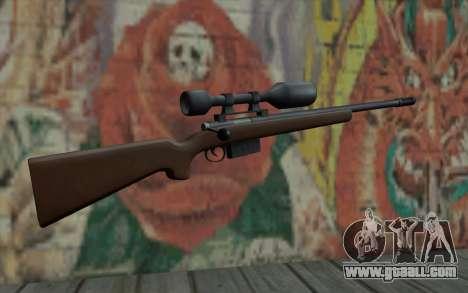 Sniper Rifle HD for GTA San Andreas second screenshot