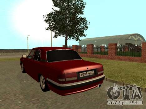 GAZ Volga 31105 for GTA San Andreas back view