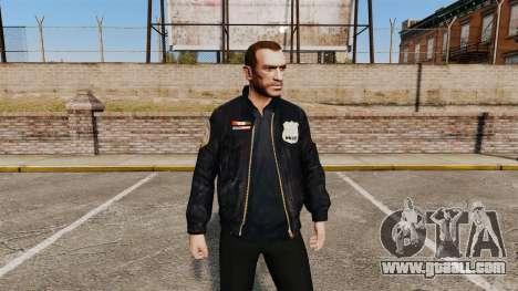 Police jacket for GTA 4