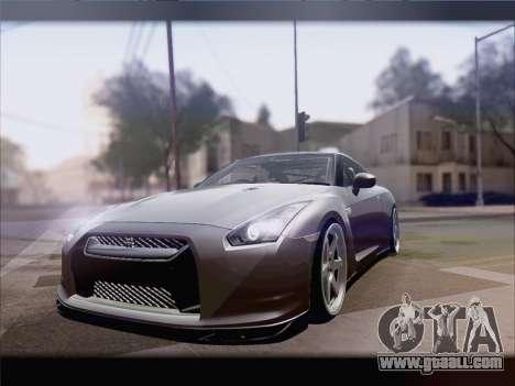 Nissan GT-R Spec V Stance for GTA San Andreas