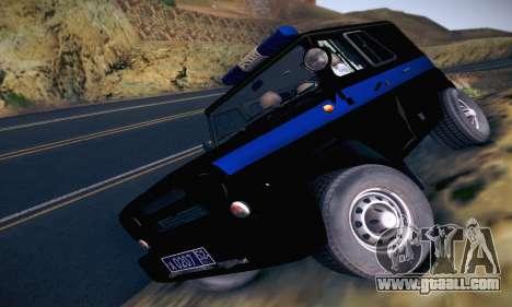 Uaz Hunter Police for GTA San Andreas
