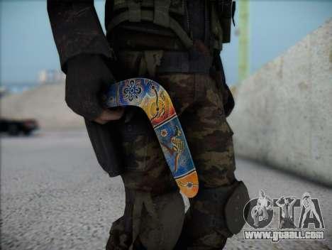 Boomerang for GTA San Andreas third screenshot