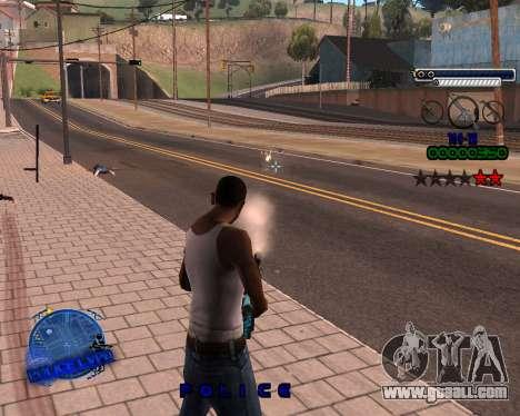C-HUD Police LVPD for GTA San Andreas third screenshot