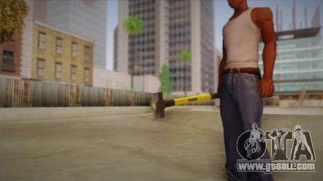 Sledge Hammer for GTA San Andreas forth screenshot