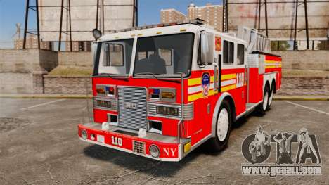 MTL Firetruck MDH1000 Midmount Ladder FDNY [ELS] for GTA 4