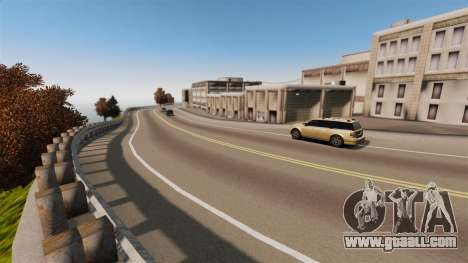 The city without a name for GTA 4 forth screenshot