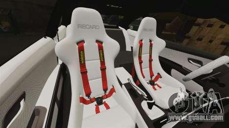 BMW M3 GTS Widebody for GTA 4 interior