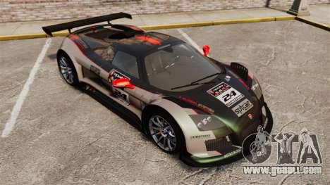 Gumpert Apollo S 2011 for GTA 4 interior