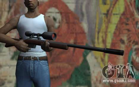 Sniper Rifle HD for GTA San Andreas third screenshot