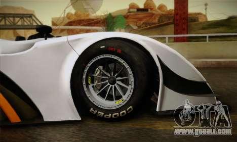 Caterham-Lola SP300.R for GTA San Andreas inner view