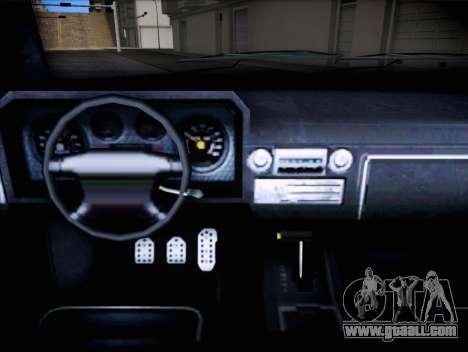 Bobcat of Vapid GTA V for GTA San Andreas right view