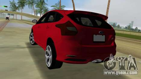 Ford Focus ST 2013 for GTA Vice City left view