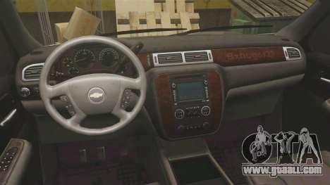Chevrolet Suburban Slicktop 2008 [ELS] for GTA 4 back view