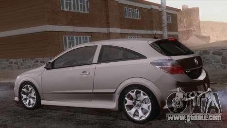 Vauxhall Astra VXR  2007 for GTA San Andreas side view
