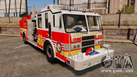 Firetruck LCFR [ELS] for GTA 4