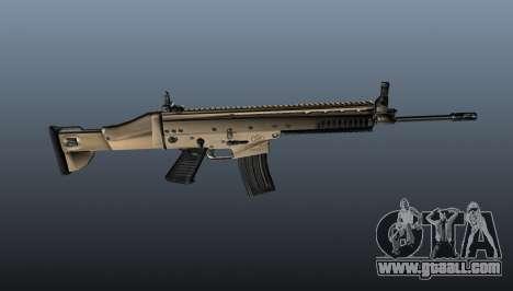 Assault Rifle SCAR-L for GTA 4 third screenshot