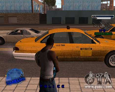C-HUD Police LVPD for GTA San Andreas second screenshot