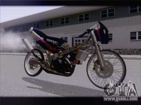 Suzuki Satria FU for GTA San Andreas left view