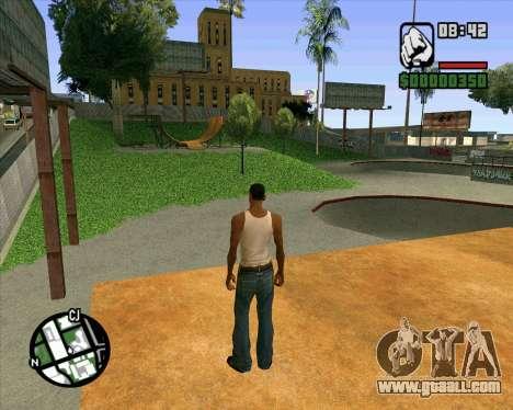 New HD Skate Park for GTA San Andreas ninth screenshot