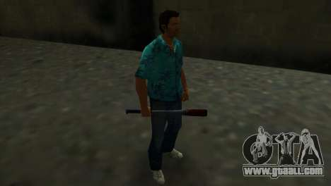 Bloodstained Baseball Bat for GTA Vice City