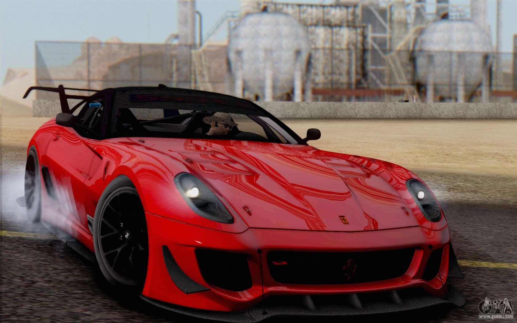 Ferrari 599xx Evolution For Gta San Andreas