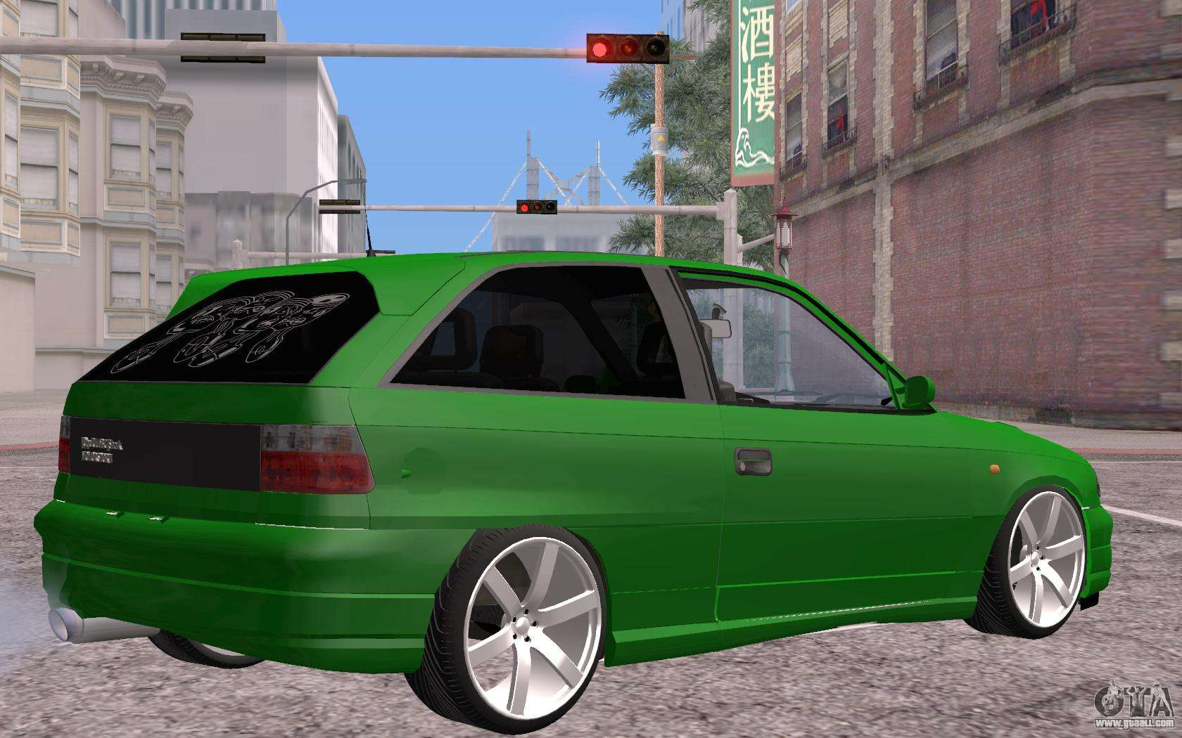 opel astra gsi tuning for gta san andreas. Black Bedroom Furniture Sets. Home Design Ideas