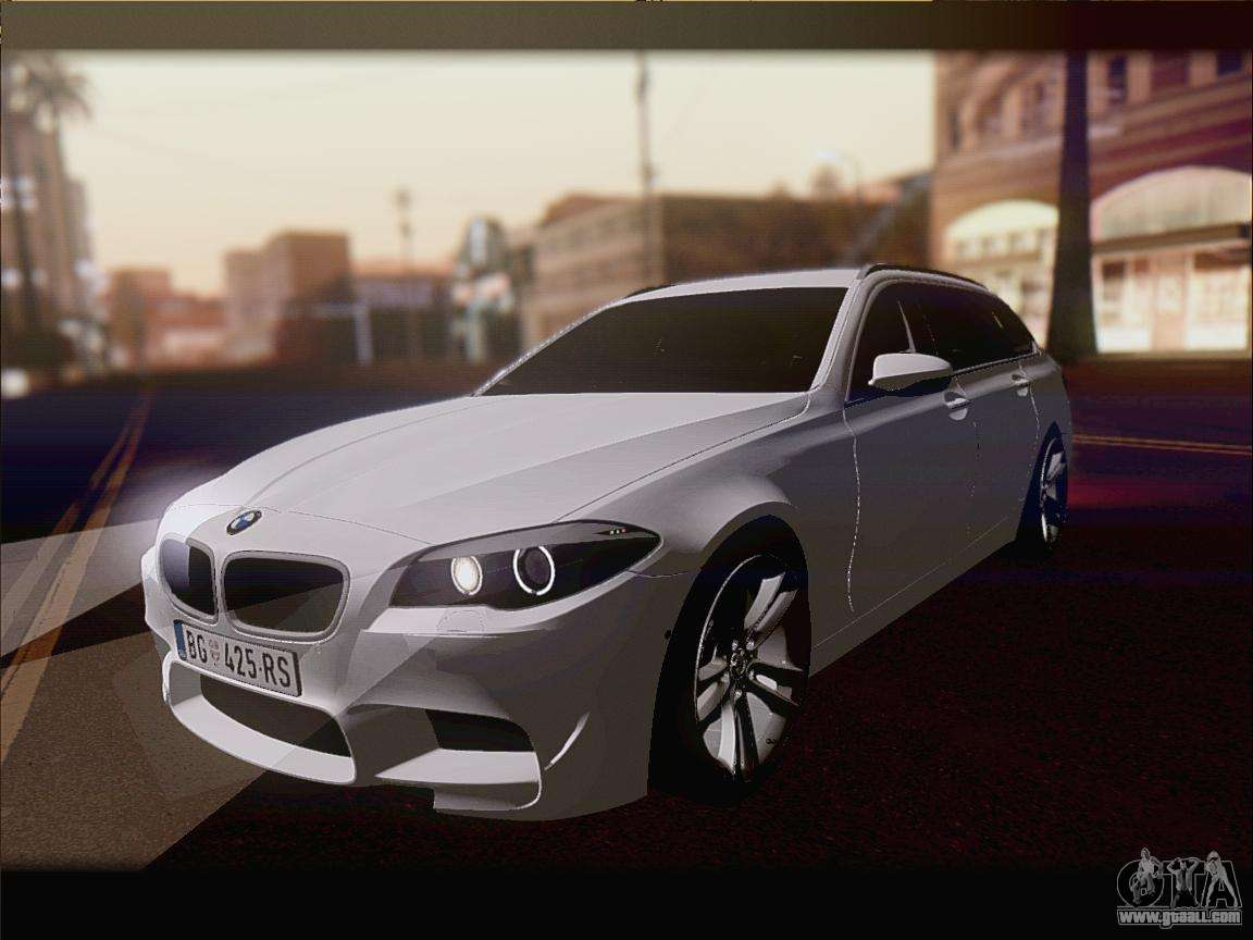 bmw m5 f11 touring for gta san andreas. Black Bedroom Furniture Sets. Home Design Ideas