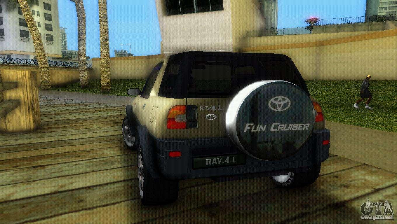 Toyota Of Glendale >> Toyota RAV 4 L 94 Fun Cruiser for GTA Vice City