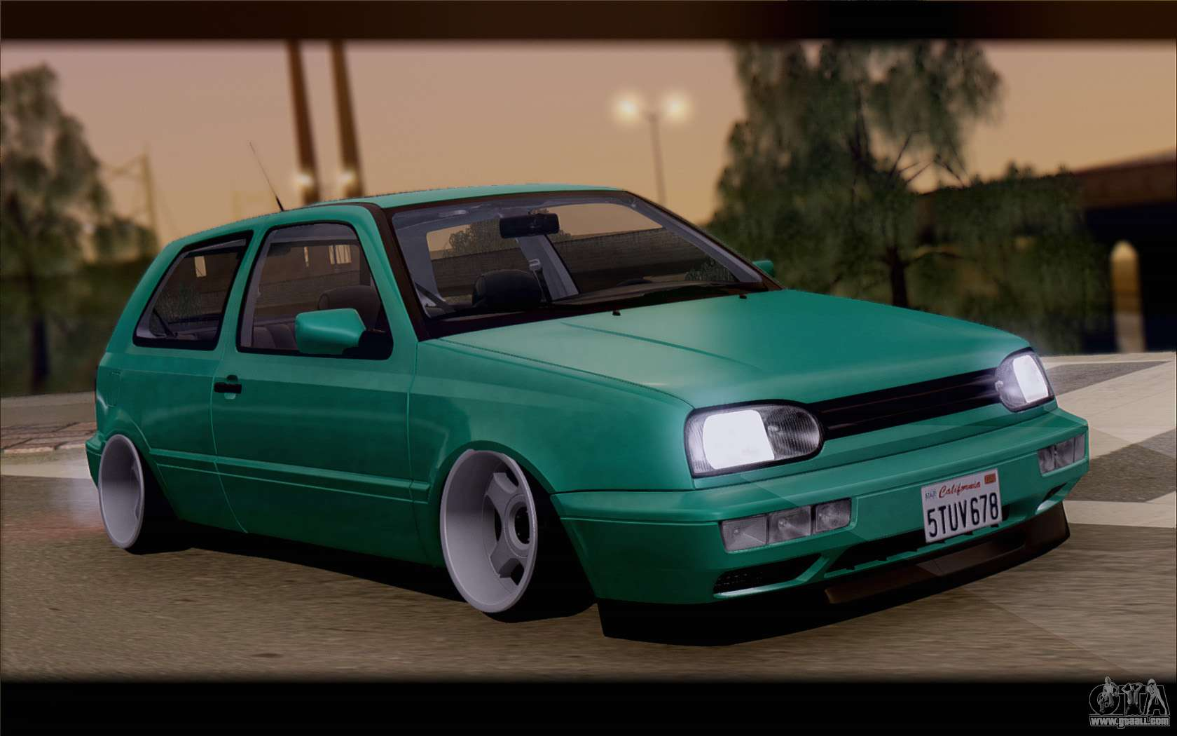 volkswagen golf mk3 for gta san andreas. Black Bedroom Furniture Sets. Home Design Ideas