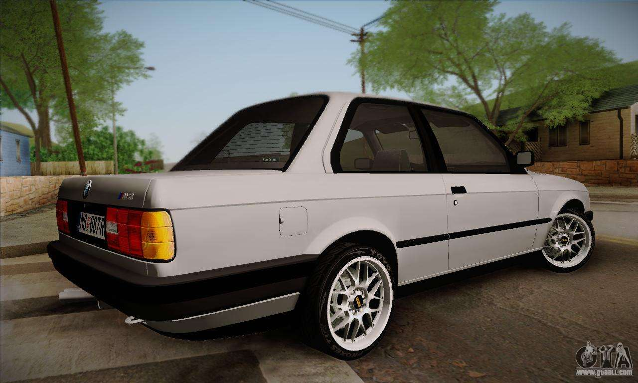 bmw m3 e30 for gta san andreas. Black Bedroom Furniture Sets. Home Design Ideas