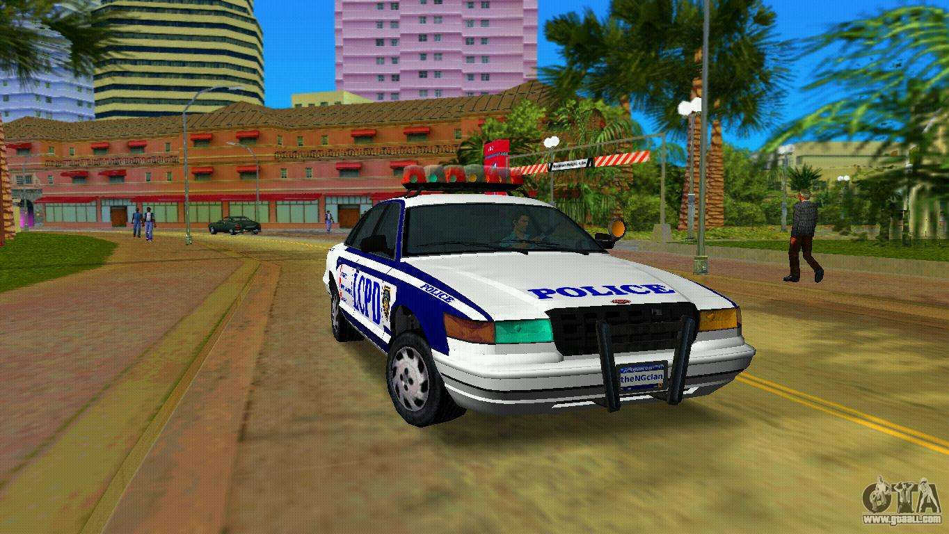 Gta Vice City Police Car Mod Gta V