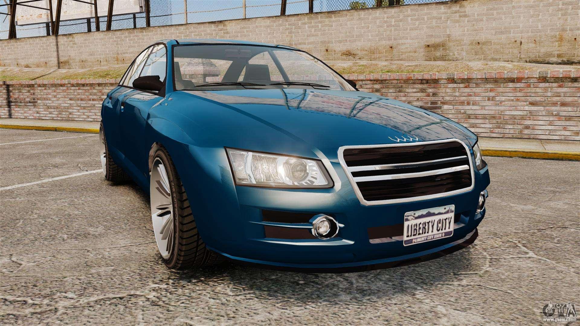 GTA V Tailgater (Michael Car) for GTA 4