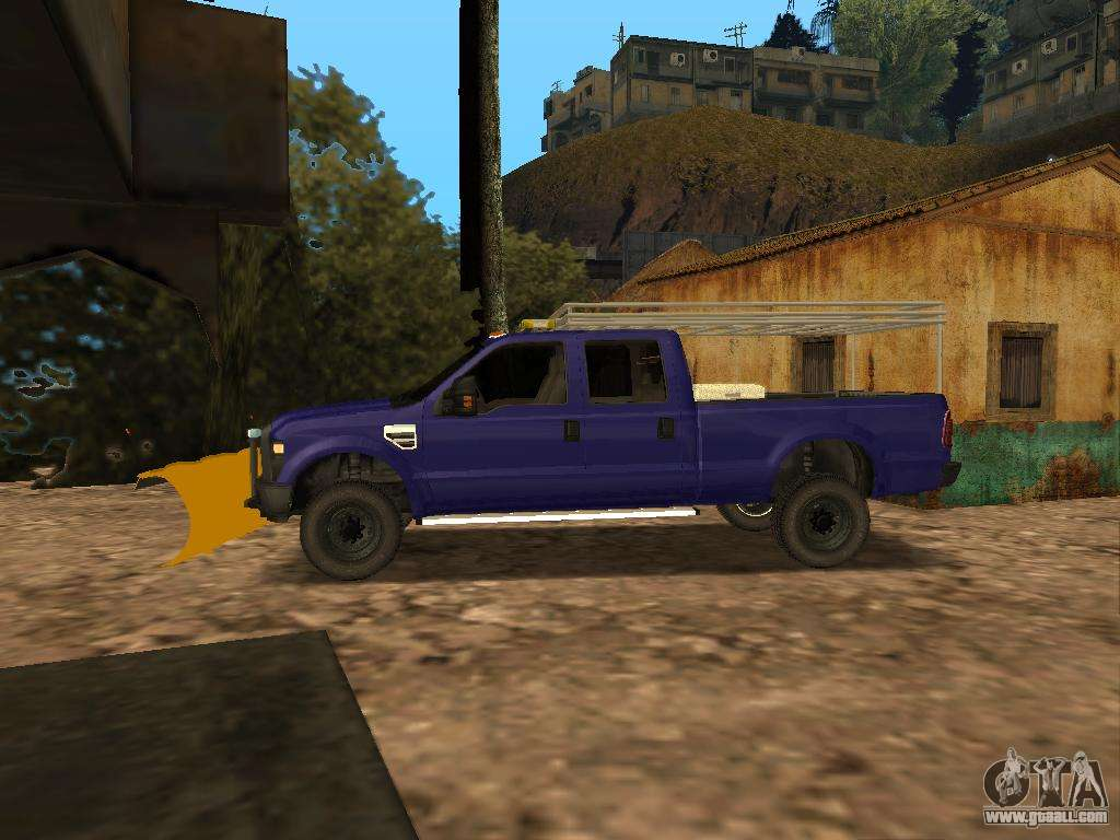 Ford f 250 for gta san andreas left view