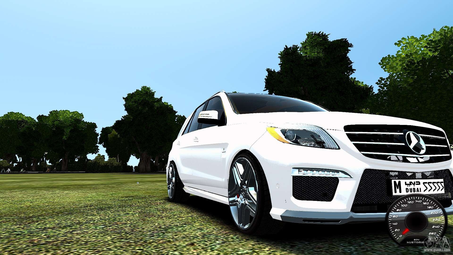 Mercedes benz ml63 amg for gta 4 for Mercedes benz ml 63