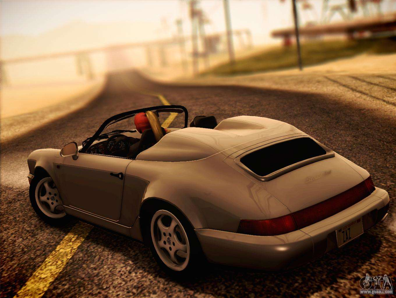 porsche 911 speedster carrera 2 1992 for gta san andreas. Black Bedroom Furniture Sets. Home Design Ideas