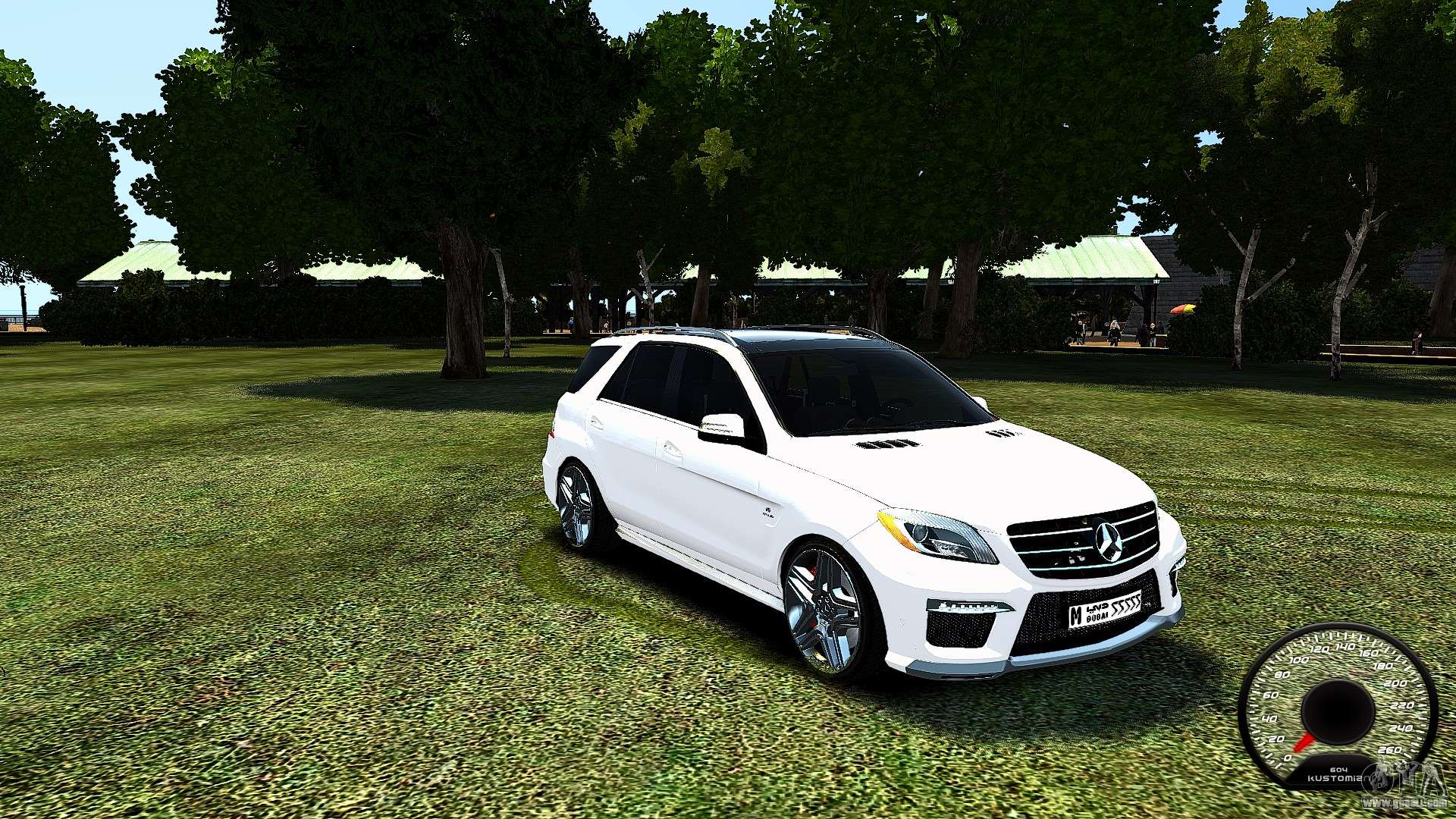 Mercedes benz ml63 amg for gta 4 for Mercedes benz amg ml63