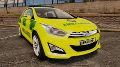 Hyundai i40 Tourer [ELS] London Ambulance