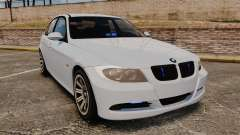 BMW 330i Unmarked Police [ELS] for GTA 4