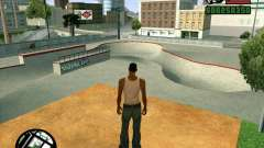 New HD Skate Park for GTA San Andreas