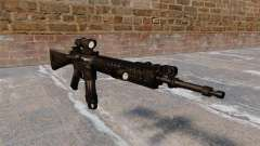 The M16A4 assault rifle