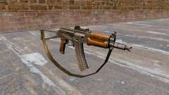 Automatic AKS74U with strap