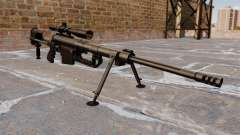 Sniper rifle CheyTac Intervention