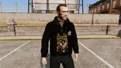 Leather jacket-Guns N Roses-