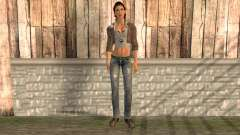Alyx Vance from Half Life 2 for GTA San Andreas