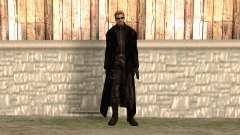 Albert Wesker in the cloak