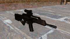 HK SL8 rifle of Bullpup