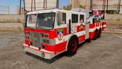 MTL Firetruck Tower Ladder FDLC [ELS-EPM] for GTA 4