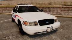 Ford Crown Victoria 2008 LCPD Patrol [ELS] for GTA 4