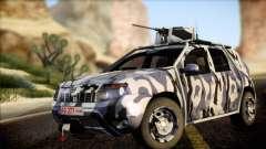 Dacia Duster Army Skin 3